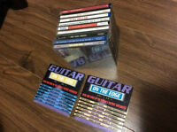 11 cd pack (used) of guitar at its finest f/s f/t (great deal!!)