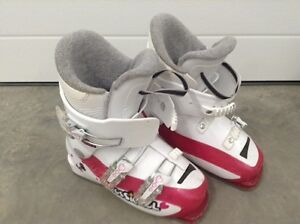 2 Pair of Girls Ski Boots