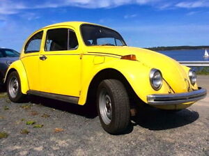 1970 VW beetle in excellent running condition