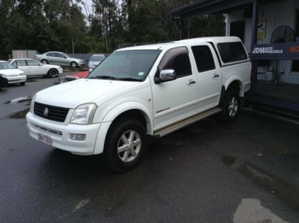 2004 Holden Rodeo RA LT White 4 Speed Automatic Utility Morayfield Caboolture Area Preview
