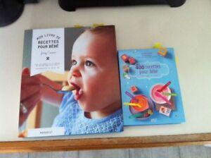 Livres recettes pour bébé
