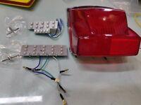 Vespa PX 125 150 200 PE P2 Orange Headset Control Light