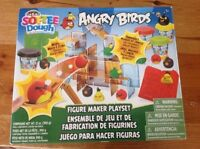 ANGRY BIRDS playdough NEW,MOVING SALE