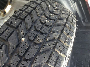 Snow tires on rims fits ranger/Mazda b-series /escape