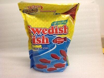 Blue Swedish Fish (Mini Red Swedish Fish bulk candy 1.9 pound bag 30.4)