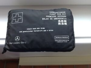 FIRST AID KIT FOR CAR. MADE BY MERCEDES-BENZ.