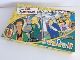 The Simpsons Board Game by Winning Moves 2000 100% Complete. New. Rare