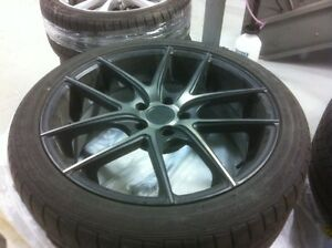 "19""  ""Niche"" black alloy wheels"