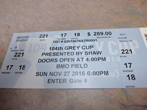 Two Pairs of Grey Cup Tickets Oakville / Halton Region Toronto (GTA) image 4