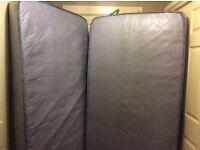 2 single mattress £20 each 2 for £35