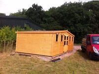 Garden sheds and summer houses any size or spec