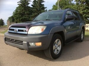 2003 Toyota 4Runner, SR5, AUTO, AWD, LOADED, ROOF, $7,500