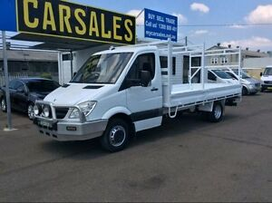 2008 Mercedes-Benz Sprinter NCV3 515CDI Cab Chassis LWB 2dr Man 6sp 2.1DT White Manual Cab Chassis Lansvale Liverpool Area Preview