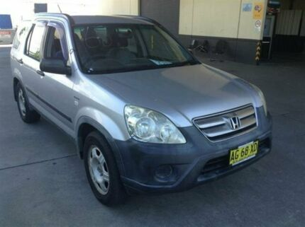 2005 Honda CR-V 2005 Upgrade (4x4) Silver 5 Speed Manual Wagon Cardiff Lake Macquarie Area Preview