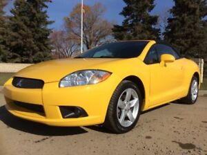 2009 Mitsubishi Eclipse, SPYDER, GS-PKG, AUTO, POWER TOP, 94K