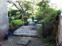 sunny 1 bed garden level Flat to Let
