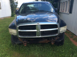 Dodge ram parts 1500 quad cab 4x4 blue 4.7