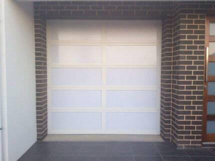 Acrylic (Translucent) Garage Door with Electric Motor