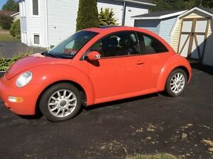 2004 Volkswagen New Beetle Coupe (2 door)