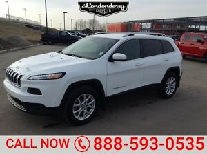 2015 Jeep Cherokee 4WD NORTH Accident Free,  Navigation (GPS),