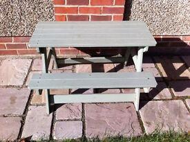 Children's garden picnic table