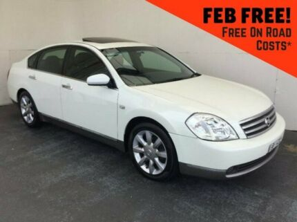 2004 Nissan Maxima J31 TI White 4 Speed Automatic Sedan