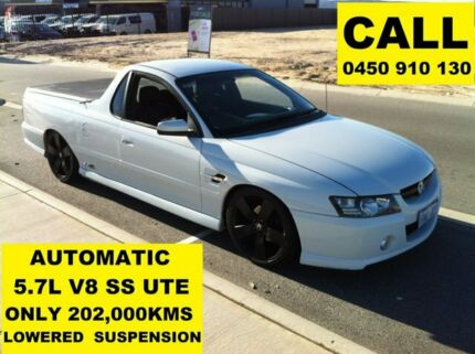 2004 Holden Commodore VZ SS Heron White 4 Speed Automatic Utility Ellenbrook Swan Area Preview
