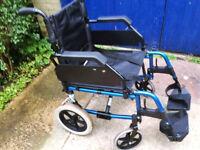 Transit type wheelchair in good condition
