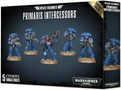 Warhammer 40k Space Marine Primaris Intercessors Combat Squad (5) *New on Sprue*