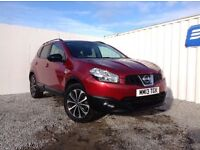 Nissan Qashqai 360 Dci 110 Diesel (red) 2013