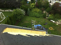 Roof leaks, Roof repair, eavestroughs in trouble? give me a ring
