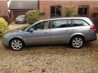 Vauxhall Vectra Estate Elite -Automatic - Silver - Petrol - Low Mileage