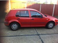 VOLKSWAGEN GOLF SDI DIESEL 2000 FOR SALE £600 ONLY