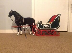"""American Girl horse and sleigh for 18"""" dolls"""