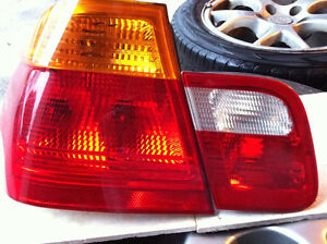 BMW E46 330, 325, 320 Tail lights and signal lights OEM!