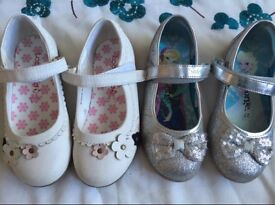 Girls shoes x2 size 9
