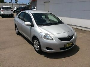 2010 Toyota Yaris NCP93R MY10 YRS Silver 4 Speed Automatic Sedan Cardiff Lake Macquarie Area Preview