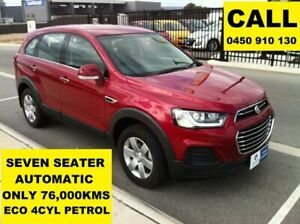 2016 Holden Captiva CG MY16 7 LS (FWD) Velvet Red 6 Speed Automatic Wagon Ellenbrook Swan Area Preview