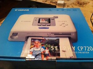 Canon Selphy CP720 photo printer - Brand new in box