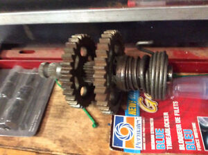 XR-XL 500, 600, 650 Kick Start Shaft with gears for sale!!!!