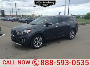 2017 Kia Sorento AWD SX 7 SEATER V6 Accident Free,  Navigation (