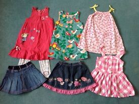 Bag of girls clothes (5-6 years)