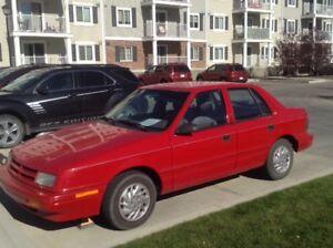 1993 Dodge Shadow Base Sedan