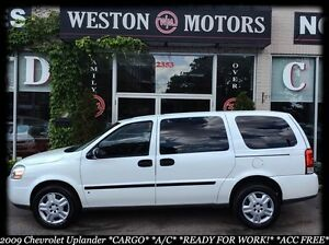 2009 Chevrolet Uplander CARGO* A/C* READY FOR WORK! ACC FREE