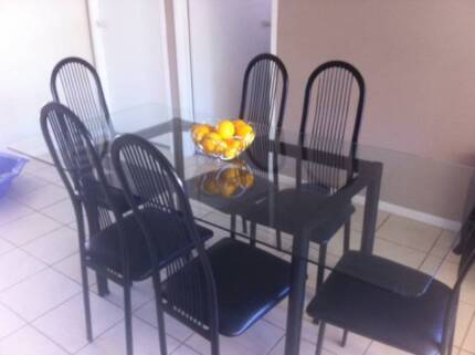 Dining Table and 6 Chairs - Good Condition $250 ONO Cranebrook Penrith Area Preview