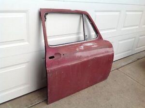 Vintage Aluminium Car Door -Great for Advertising