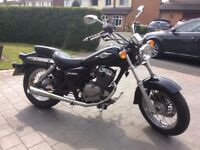 Suzuki Marauder 125cc 2009 8000 miles. Great condition