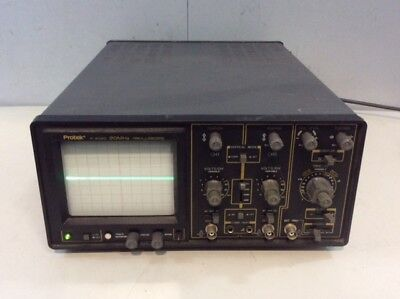 Protek P-2020 20 Mhz Oscilloscope 2 Testing Equipment Analyzer