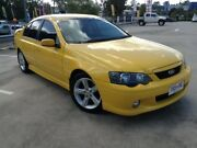 2005 Ford Falcon BA MkII XR6 Yellow 4 Speed Auto Seq Sportshift Sedan Morayfield Caboolture Area Preview