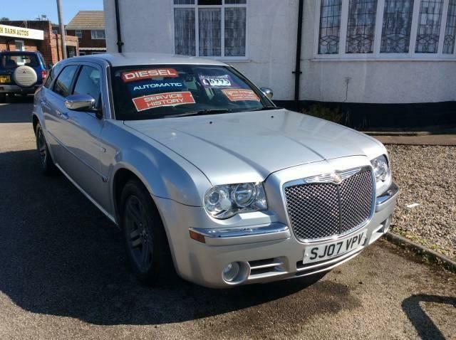 Gorgeous 07 reg chrysler 300c diesel auto with full for Chrysler 300c diesel